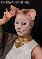 Egyptian Cat Goddess by CinemaMakeupSchool