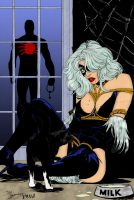 Spider-Man and Black Cat by pascal-verhoef