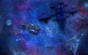 Wide Screen Nebulae Wallpaper by WDWParksGal