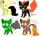 .:RARE:. Goopy Gorecat Adopts OPEN by R-C-R