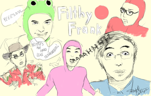Filthy Frank by YummeuhMangoes