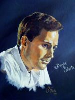 Dwight Schultz by annieoakley64