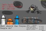 The Crayon People vs The Dark Lord by LimeGreenFlix