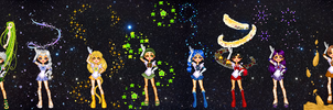 Sailor Zodiacs Ver. 2 by eternalsailorpisces