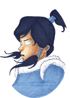 Avatar Korra by nanchino