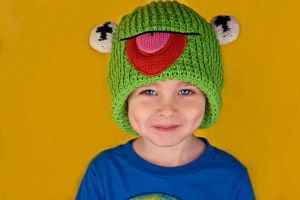Jude Kermit Hat by IQuitCountingStock