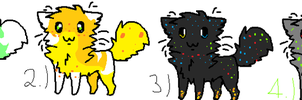 Cat adoptables #1. (FREE) by LunaTehKitty