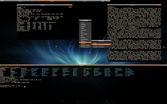 FreeBSD desktop and server by tangramm