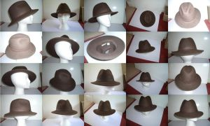 Fedora hats by GeneralVyse