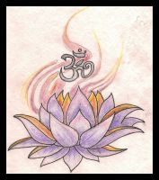 lotus and ohm by Bates1010