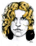 Robert Plant by Killerfishy