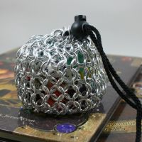 Chainmail Dice Bag - Small by Utopia-Armoury