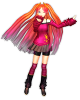 MMD Newcomer - Pop Princess Ritsu by Pokeluver223