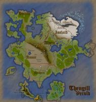 Verold, Thengill: Fantasy Map (light) by Aldrnarii