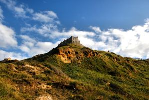 Scarborough Castles by daliscar