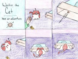 Walter the Cat has Another Adventure by arien87