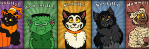 Halloween Cats by Cavity-Sam