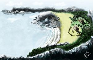 Backway Island Concept 01 by johnnydwicked