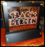 Hack Bergen Edge-Lit LED Sign by ChimeraDragonfang