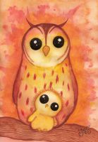 Owls by MissPoe