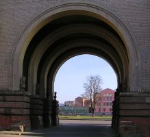 Archway to embankment by saltov-man