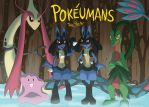 Pokeumans, The Poster by Galactic-Rainbow