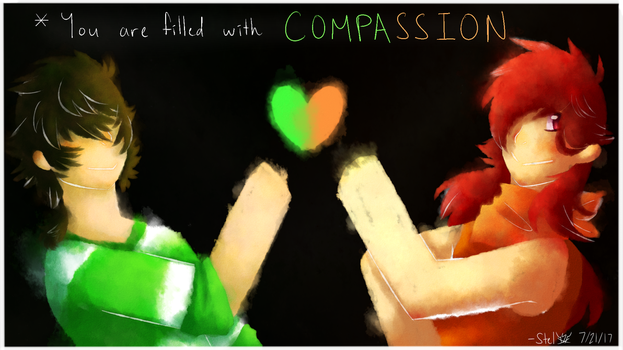 *You are filled with COMPASSION **COMM** by StellaKitsuna