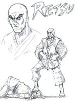 Street Fighter One: Retsu by GarthTheDestroyer
