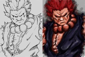 AKUMA or GOUKI by shisnosamurai