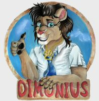 Badge for Dimonius by TahvoDerWeisseWolf