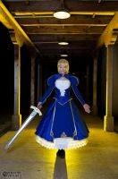 Saber- Print available 1 by Cosmic-Empress