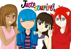 Juste Sourire - IE OC by MzVerlac
