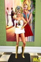 She-Ra As A Hypnotized Mannequin by The-Mind-Controller