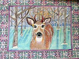 deer by Lou-in-Canada