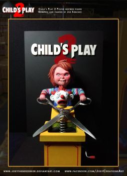 Child's Play 2 Poster replica 4 by joeytheberzerker