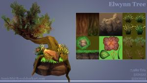 Elwynn Tree Progress by royalshark