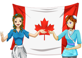 They want to be canadian by Jenny-Winter