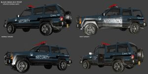 Security SUV - 3rd Update by Deathbymodding