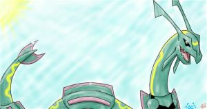 Collab: Rayquaza the Sky Ruler by ToxicSerpent
