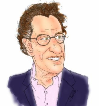 Geoffrey Rush attempt in color by Bakerdezign