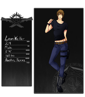 I.L.: Leon Weller Application by PinkXombie