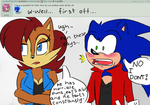 ASK Sonic + Sally 6 by MightyMorg