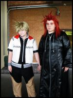 .KH. AkuRoku natsucon by Mint8Candy
