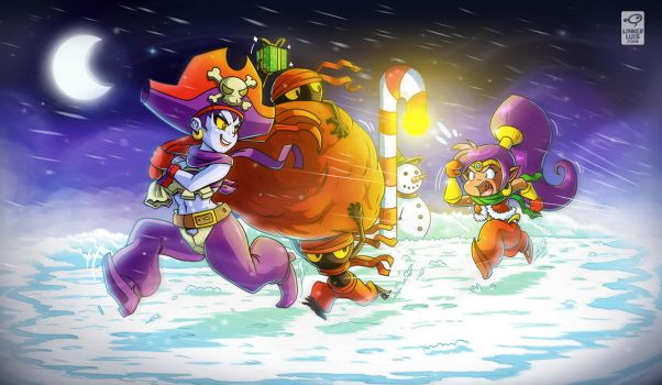 How Risky stole Christmas by LinkerLuis