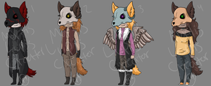 Mortis Lupis Adopts- OPEN by Mortis-Lupis-Creator