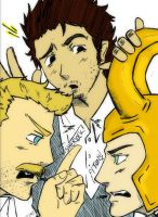 Who and What? Holmes, Watson, and Loki? by Happy-Bomber