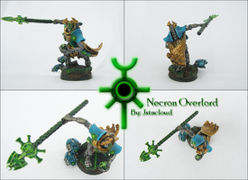 Necron Overlord by jstncloud
