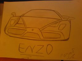 enzo the best car by youngxxblood