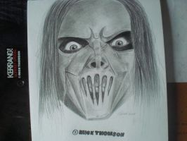 Mick Thomson finished by teenagexzombie