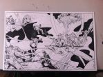 Inhumans vs Mindless Ones commission by JakeEkiss
